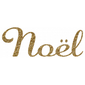 Noel SNoel 2Gold Glitter Word Art