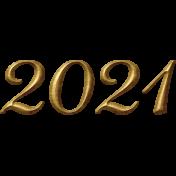 2021 Anew Word Art