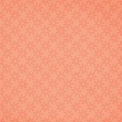Orange Retro Circles ANW Paper