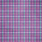 Pink ANW Plaid Paper