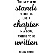 New Chapter ANWA Word Art