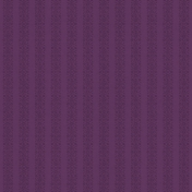 Purple Waiting Floral Stripe Paper