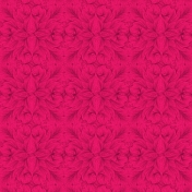 Bright Pink Waiting Swirls Paper