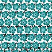 Blue Manuka Flower Overlay