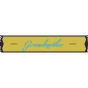 Plate- Grandmother