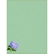 Vintage Floral Journal Card 3