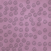 Purple Peace Sign Paper