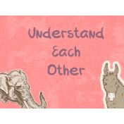 Understanding Each Other Pocket Card