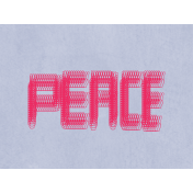 Peace Pocket Card