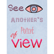 Another's point of view pocket card