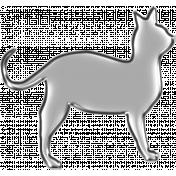 Happy Halloween 1- Cat Silver