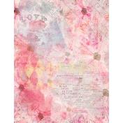 Grunged Up Florals- Paper 12