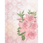 Grunged Up Florals- Paper 3