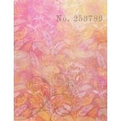 Grunged Up Florals- Paper 4