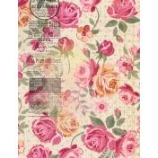 Grunged Up Florals - Paper 9