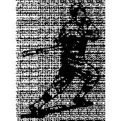 Baseball Player Stamp