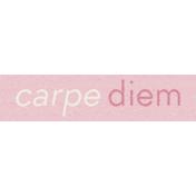 Spread Your Wings- Tag Carpe Diem
