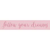 Spread Your Wings- Tag Dreams