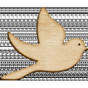 Spread Your Wings- Wood Left Bird