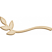 Spread Your Wings- Wood Branch Small