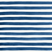 Good Day- Paper Paint Stripes Navy