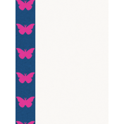 Good Day- Journal Card Butterflies 3x4v