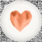 Good Day- Brad- Heart Orange