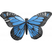 Good Day- Butterfly Blue
