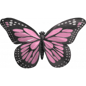 Good Day- Butterfly- Pink