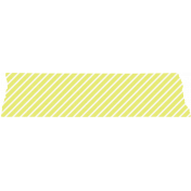 Good Day_Washi Tape Stripes Yellow