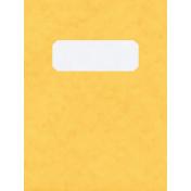 Work Day- JC Folder Yellow 3x4