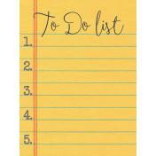 Work Day- JC List 3x4