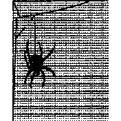 Autumn Day- Stamp Spider