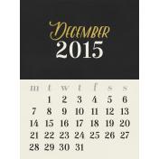 Christmas Day- JC Calendar 3x4