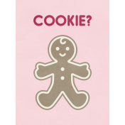 Christmas Day- JC Cookie 3x4