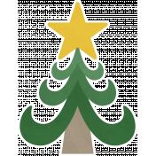Christmas Day_Sticker Christmas Tree