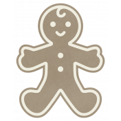 Christmas Day_Sticker Gingerbread 1