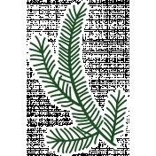 Christmas Day_Sticker Pine 1 Dark
