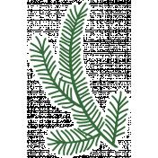 Christmas Day_Sticker Pine 1 Light