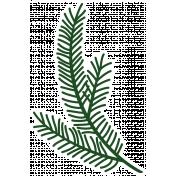 Christmas Day_Sticker Pine 2 Dark