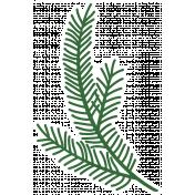 Christmas Day_Sticker Pine 2 Light
