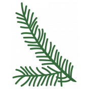 Christmas Day_Sticker Pine 3 Light