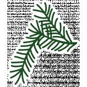 Christmas Day_Sticker Pine 4 Dark