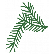 Christmas Day_Sticker Pine 4 Light