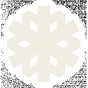 Christmas Day_Sticker Snowflake 1 White