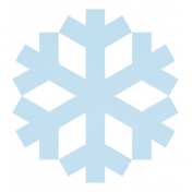 Christmas Day_Sticker Snowflake 2 Blue