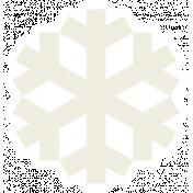 Christmas Day_Sticker Snowflake 2 White