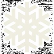 Christmas Day_Sticker Snowflake 3 White