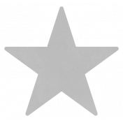 Christmas Day_Sticker Star 3 Gray