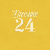 Christmas Day- JC December 24 3x3